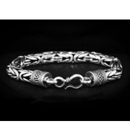 zilveren armband: king chain