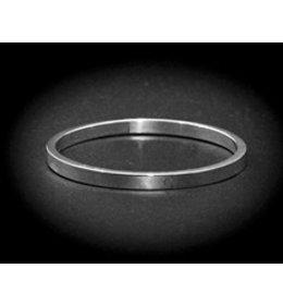 zilveren armband: tiny plain
