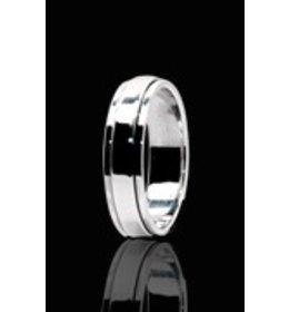 zilveren ring: spinning plain