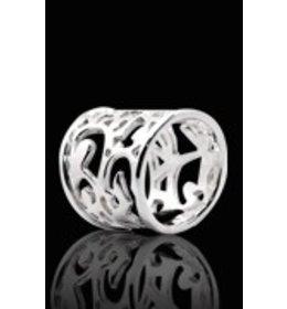 zilveren ring: various
