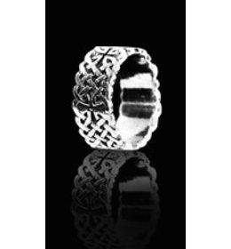 zilveren ring: celtic