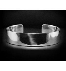 zilveren armband: shiny design