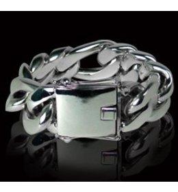 zilveren armband: figaro