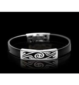 rubber armband: tribal