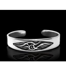 zilveren armband: tribal sunbeam