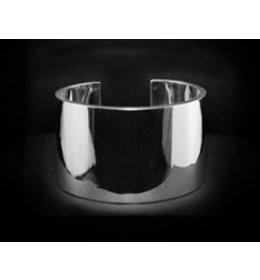 zilveren armband: heavy plain