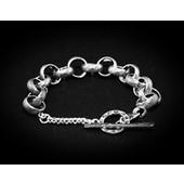 zilveren armband: diamond pattern