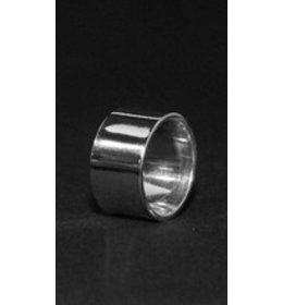 zilveren ring: simple