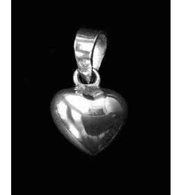 zilveren hanger: little heart