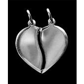 zilveren hanger: break