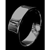 zilveren ring: tiny plain