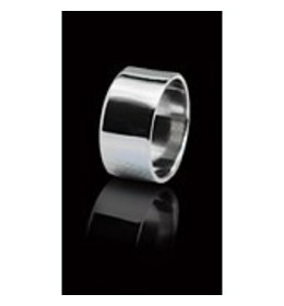 6bdb2afb6f9 zilveren ring: plain band - Only Silver