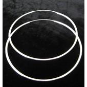 zilveren creool: tiny