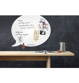 Wonderwall MAGNEETBORD EN WHITEBOARD TEKSTBALLON LARGE