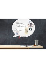 Wonderwall whiteboard tekstballon 50x 60 cm