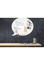 Wonderwall whiteboard tekstballon