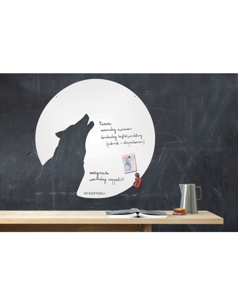 Wonderwall 67 X 70 CM WHITEBOARD WOLF