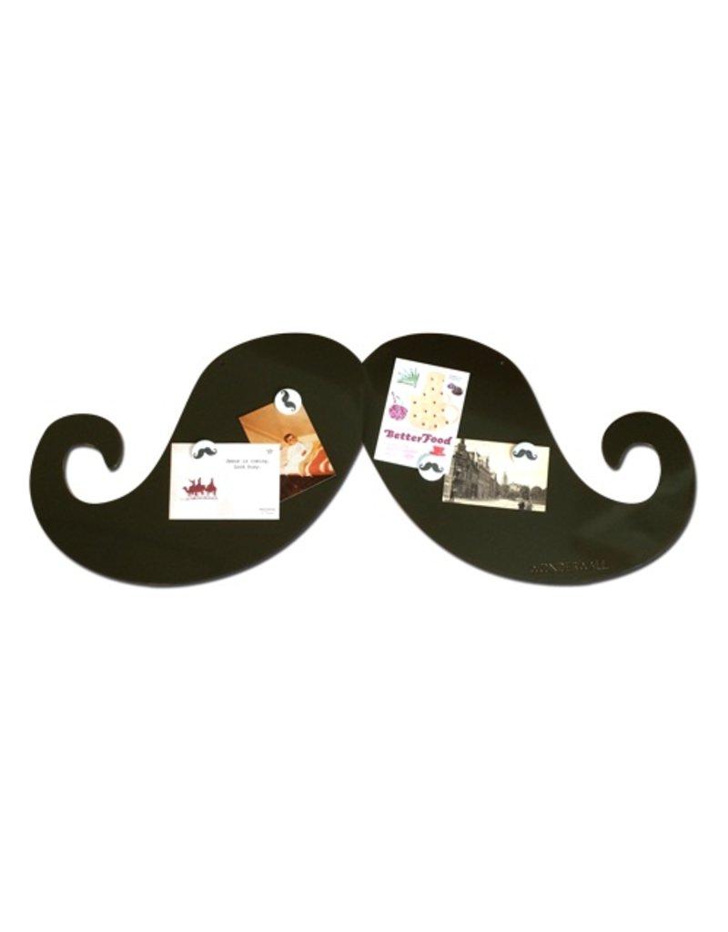 Wonderwall Magneetbord snor -op is op!