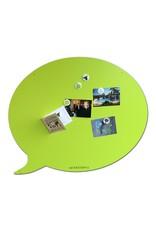 Wonderwall Magnetic board speech bubble 67 X 80 CM SUMMER GREEN