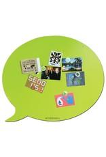 Wonderwall    Magneetbord Large lime groen