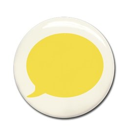 Wonderwall MAGNET BALLOON Yellow