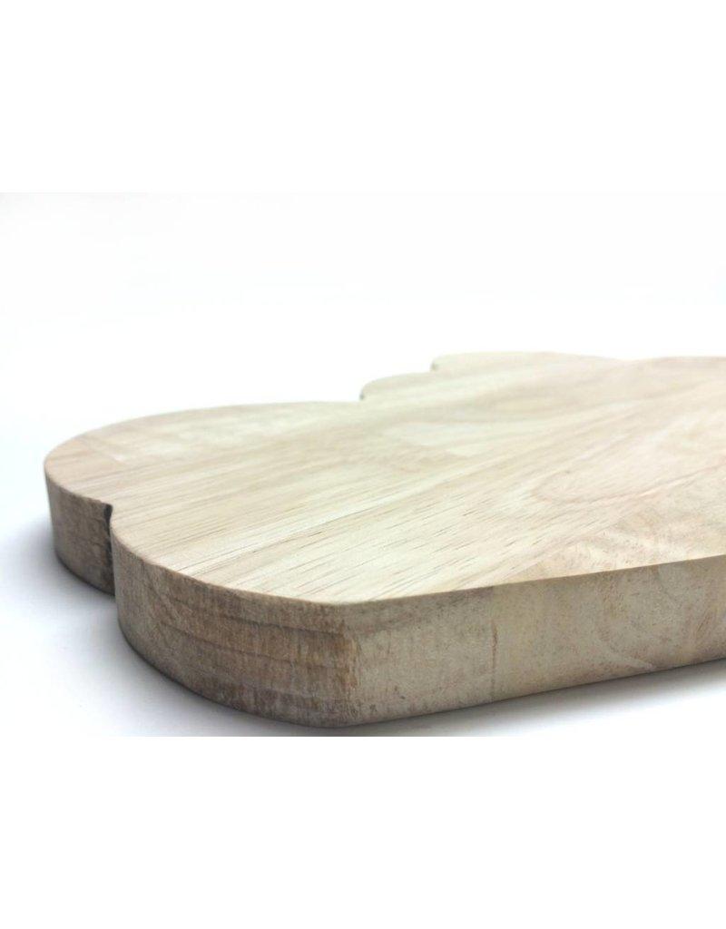 Wonderwall houten plankje wolk