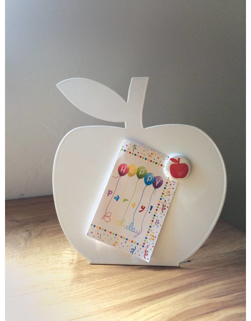Wonderwall Magnetic board + whiteboard apple table model