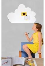 Wonderwall whiteboard en magneetbord wolk 54 x 80 cm