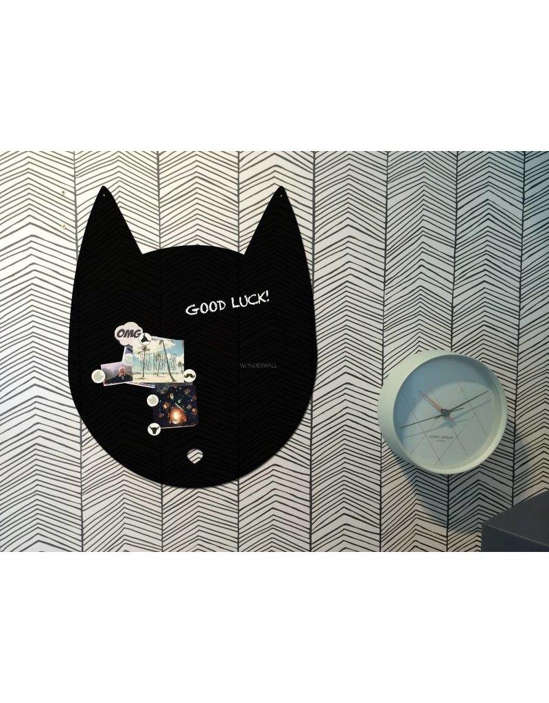 Wonderwall Kat magneetbord en krijtbord large 67 x 80 cm