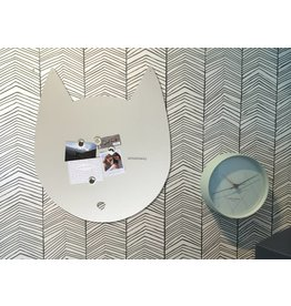 Wonderwall Magneetbord KAT LARGE -Off White Mat