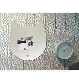 Wonderwall Magnetic board Housecat off white