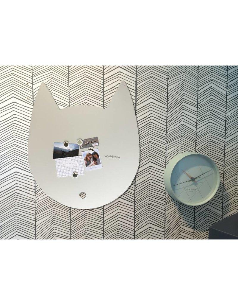 Wonderwall 67 x 80 cm House-cat magnet board off white