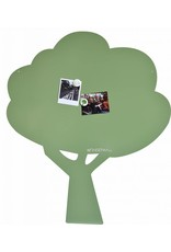 Wonderwall 95 X 80 CM Magnetic board Tree Exclusive Kamakura Green- limited edition