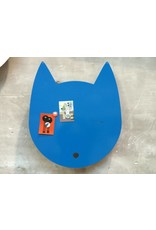 Wonderwall Large kat magneetbord in  LIMITED BLUE EDITION