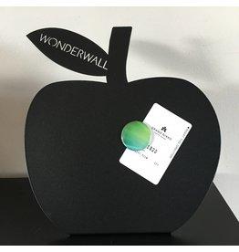 bureau magneetbord zwart