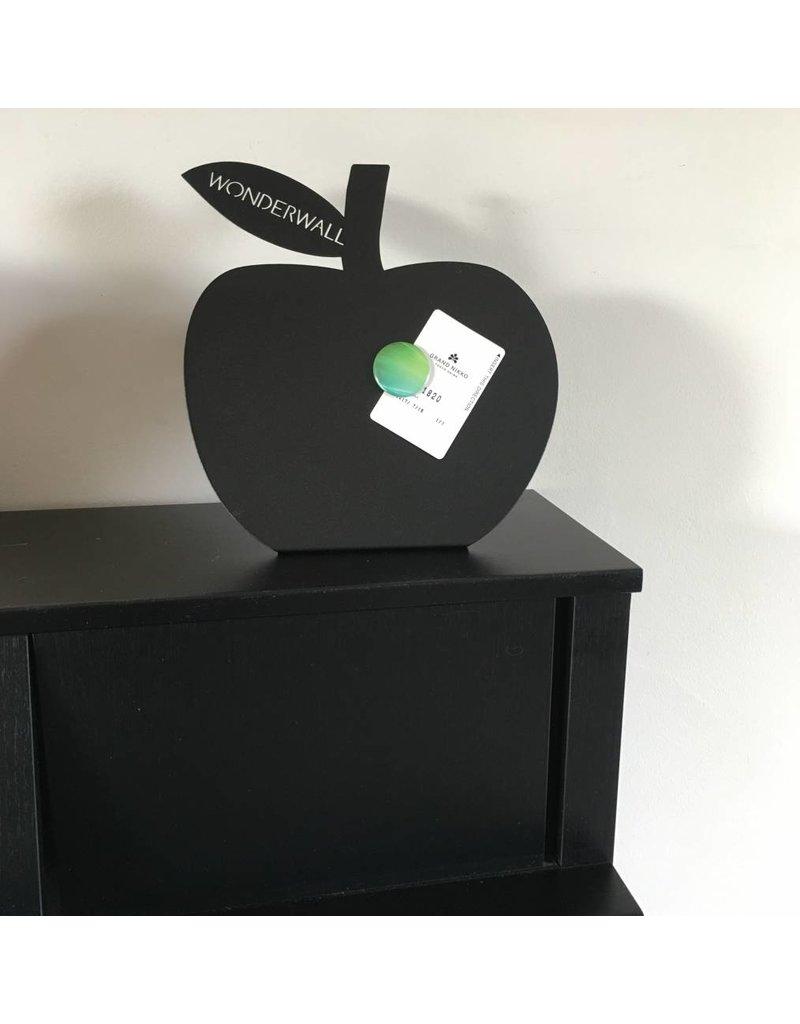 bureau magneetbord staand zwart