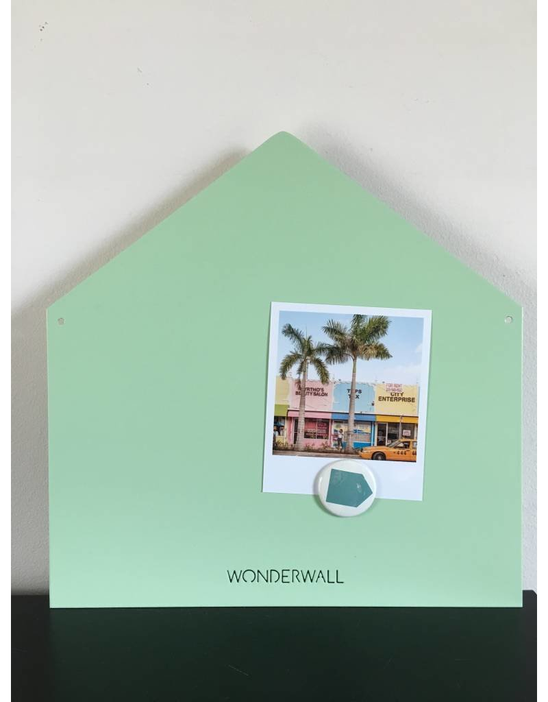Magnetic board house small mint