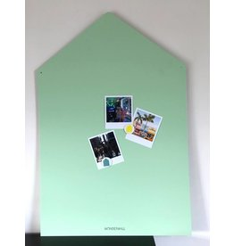 Wonderwall Magnetic board house mint Large