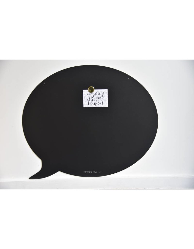 Wonderwall Magnetic Board speech bubble 67 X 80 CM Special christmas collection