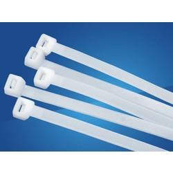 Universeel Tie-Wrap kabelbinder 4.80 * 300 mm. 100 stuks per verpakking.