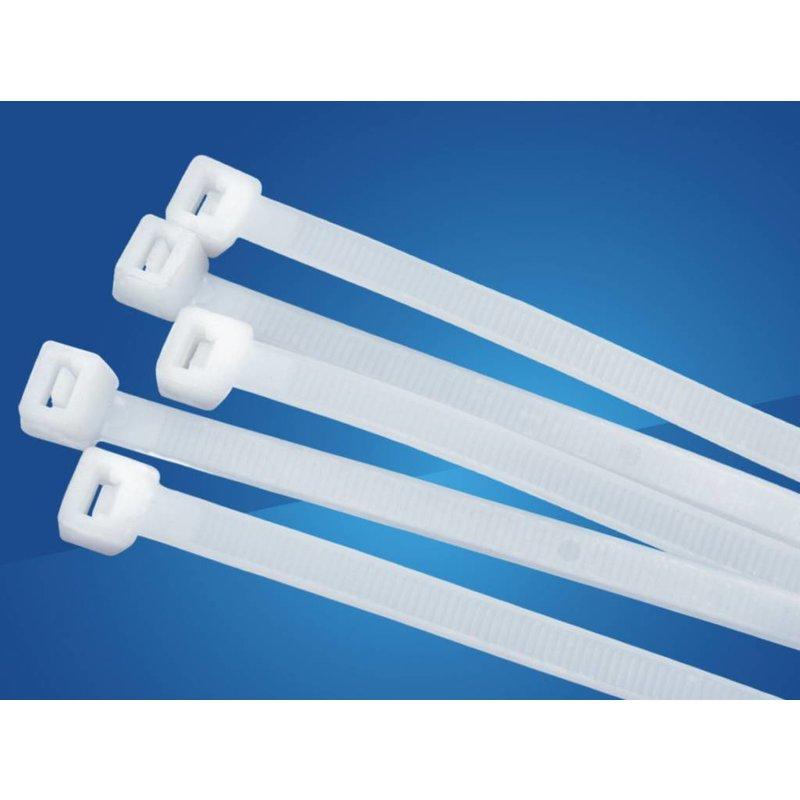 Universeel 25 pack Tie-Wrap, eenvoudige en snelle kabelbinder. 100 stuks per verpakking