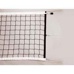 Volleybalnet voor wedstrijd gebruik 100 mm maas