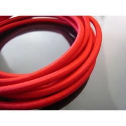 Trapezekoord 6 mm per meter rood