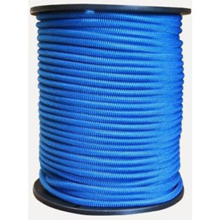 6mm dik mono-kern trapezekoord blauw