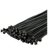 Universeel Tie-Wrap, eenvoudige en snelle kabelbinder. 1000 stuks per verpakking -Zwart