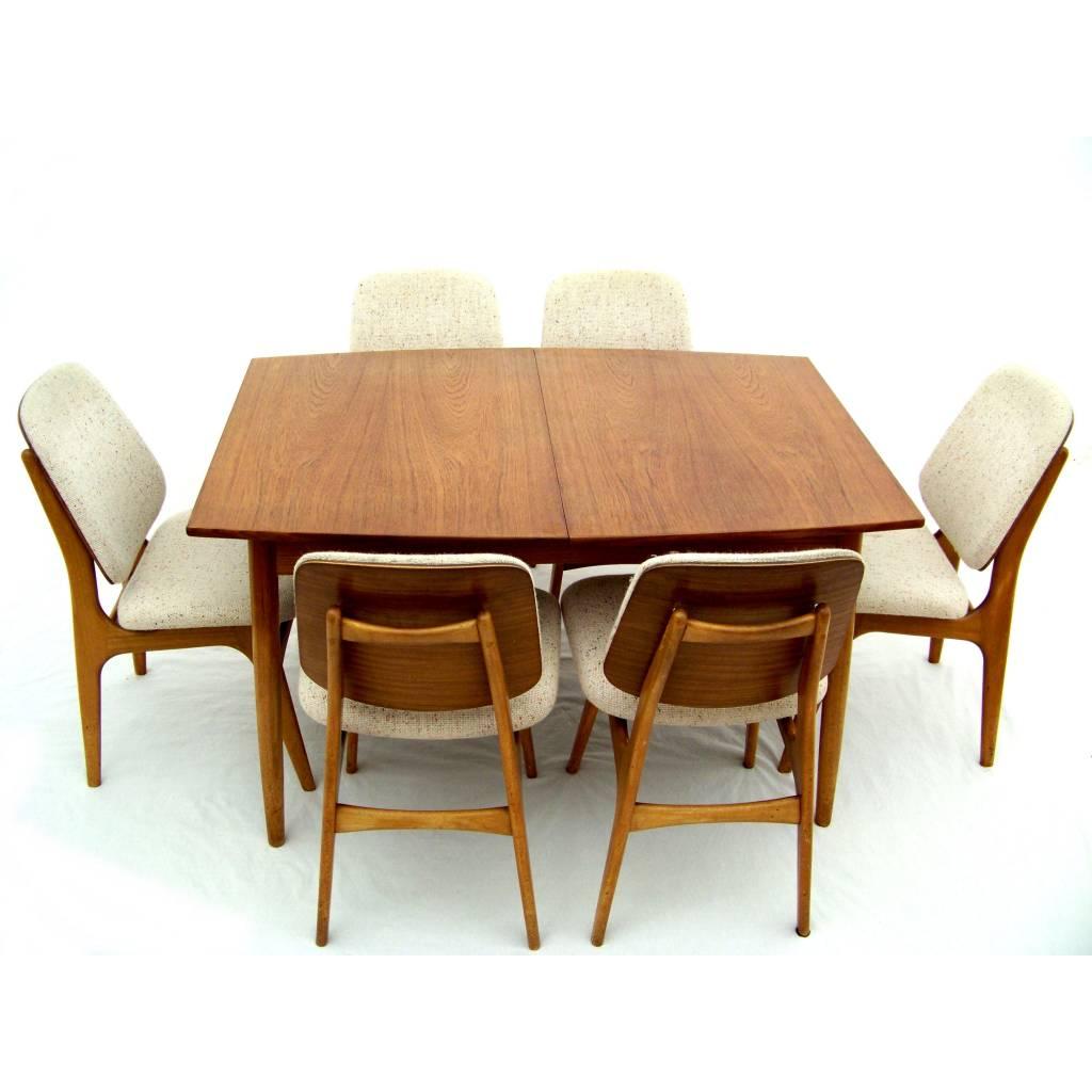 Arne hovmand olsen dining set danish design 24vintage for Dining set decoration