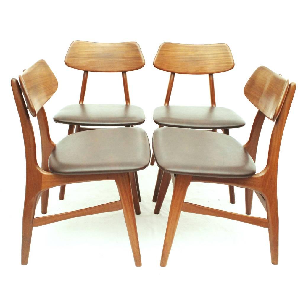 Bako eetkamerstoelen uit de jaren 60, Nederlands Design - 24Vintage