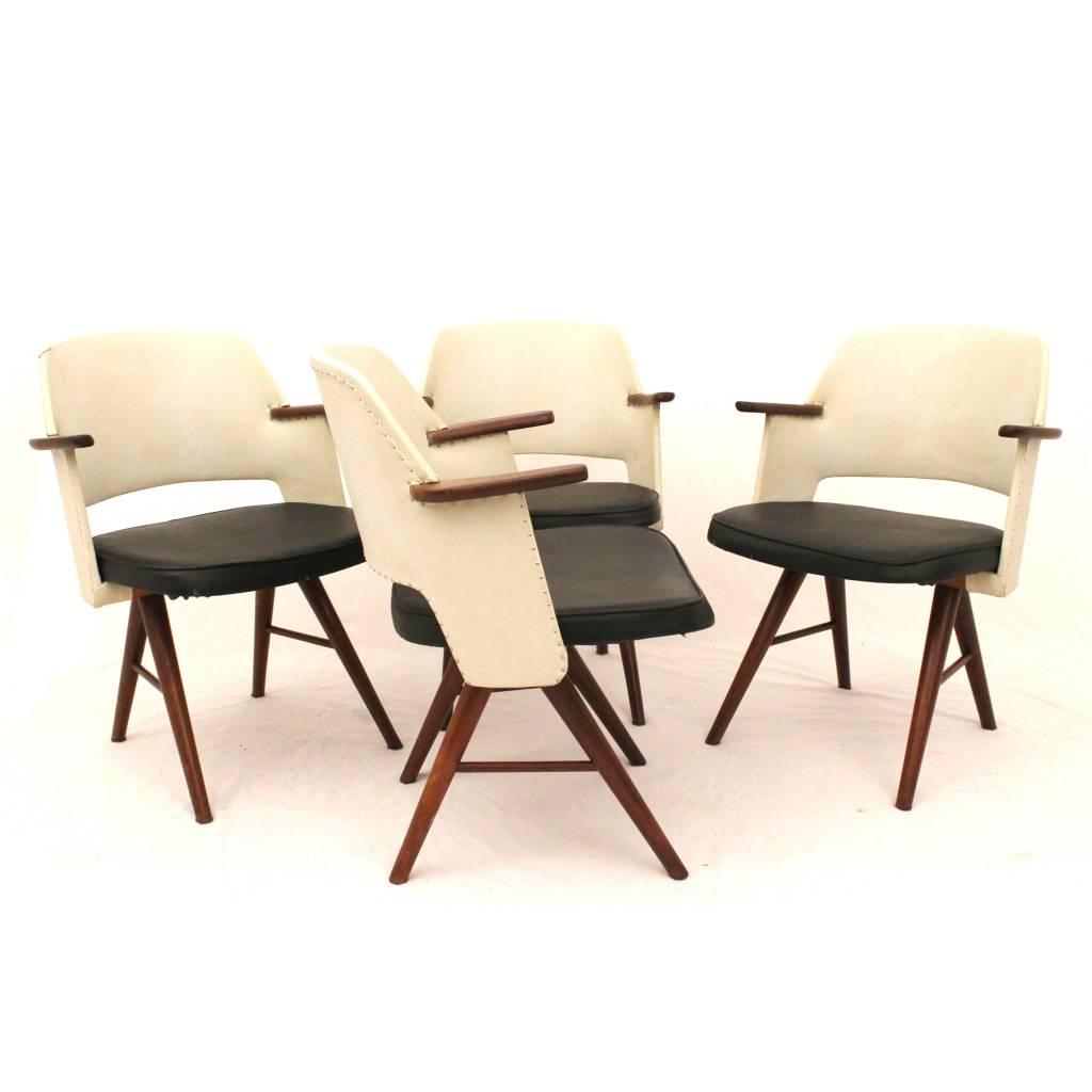 Pastoe FE30 eetkamerstoelen ontworpen door Cees Braakman ...