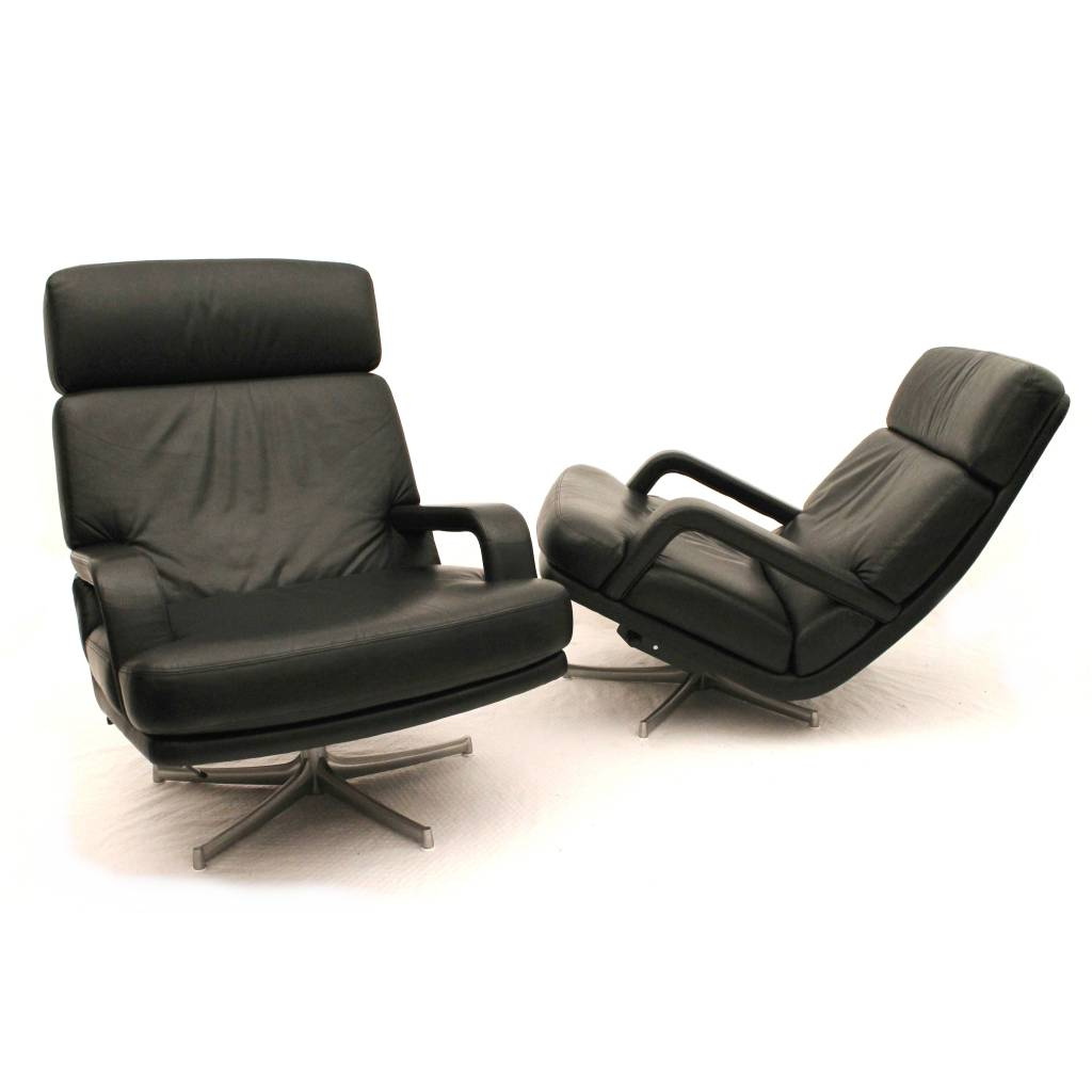 Walter knoll relaxfauteuils don ontworpen door bernd m nzebrock duits design 24vintage - Knoll stoelen ...