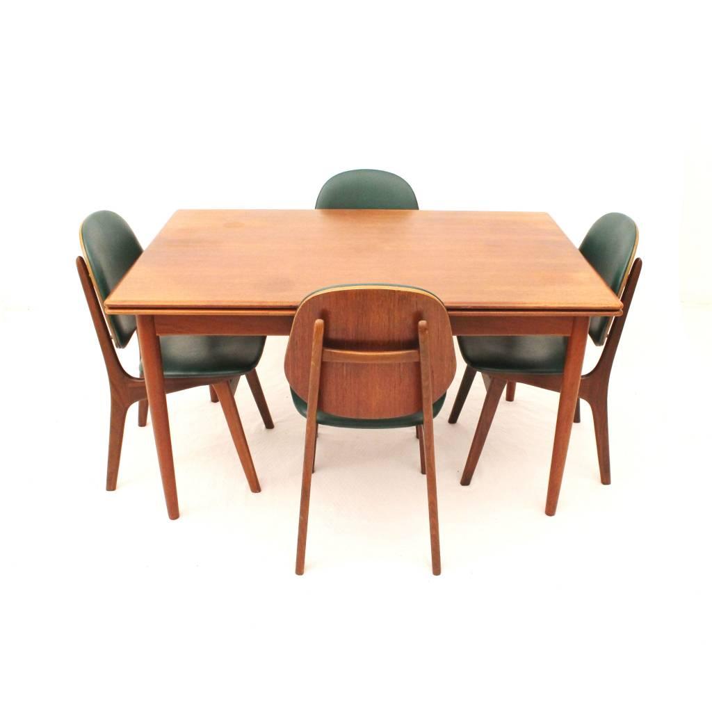 Dining Set Designed By Arne Hovmand Olsen For MK